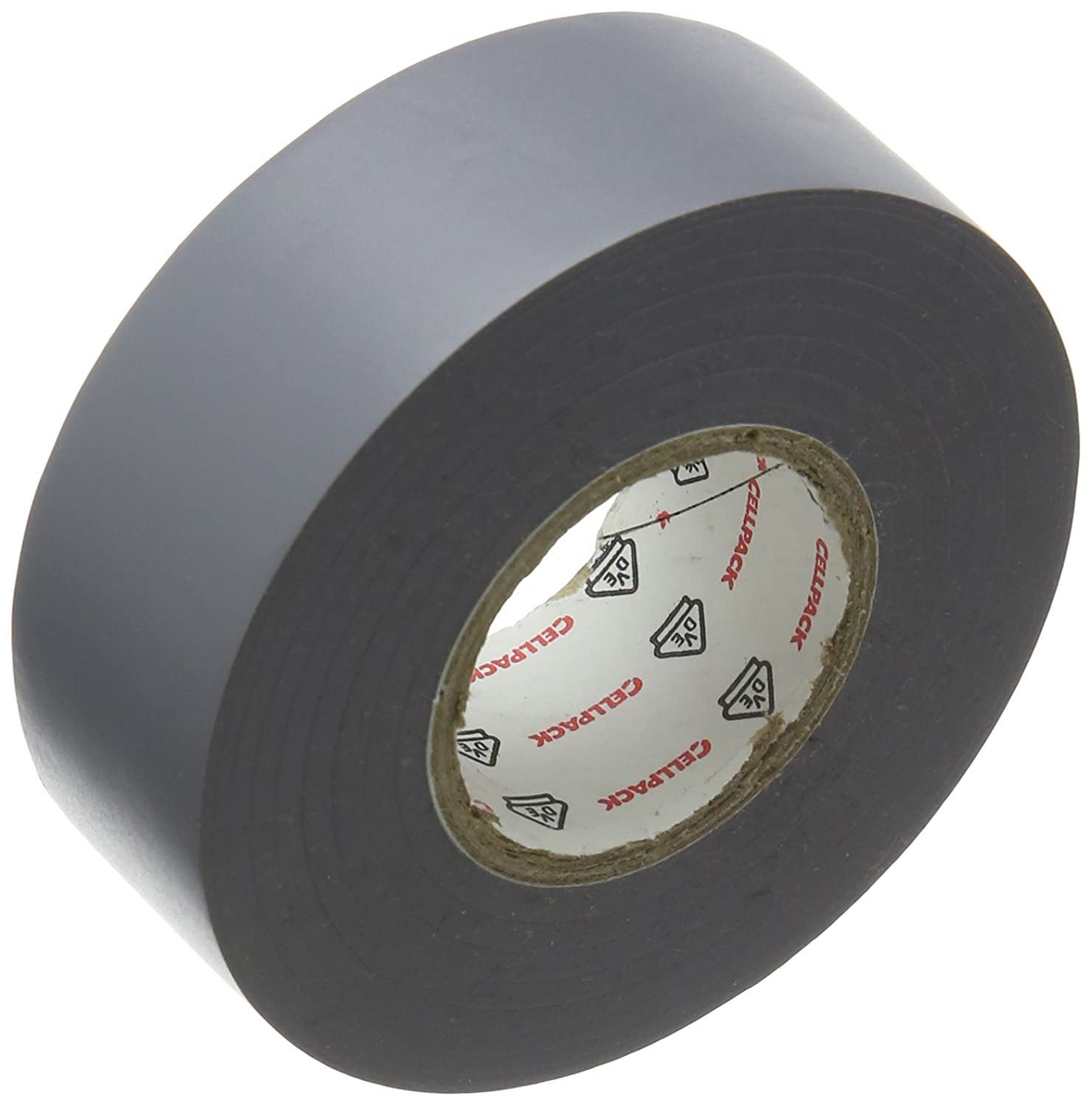Cellpack 145782 128 0.15-25-25, PVC Electrical Insulation Tape, Grey