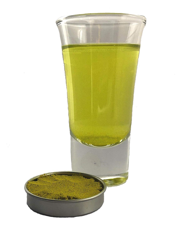 Snowy River Leaf Green Beverage Coloring - Kosher All Natural Leaf Green Drink Coloring and Food Coloring (5g Drink Color)