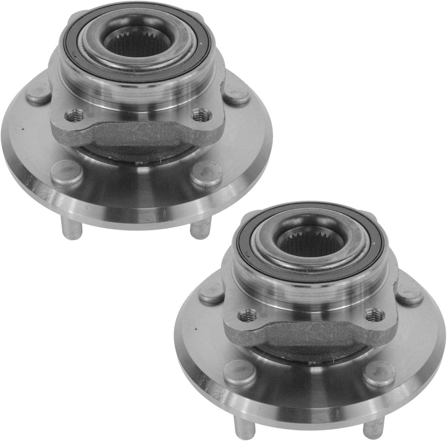 Front Wheel Bearing /& Hub Assembly LH RH Set of 2 Pair for Ford F150 4x4 7 Lug