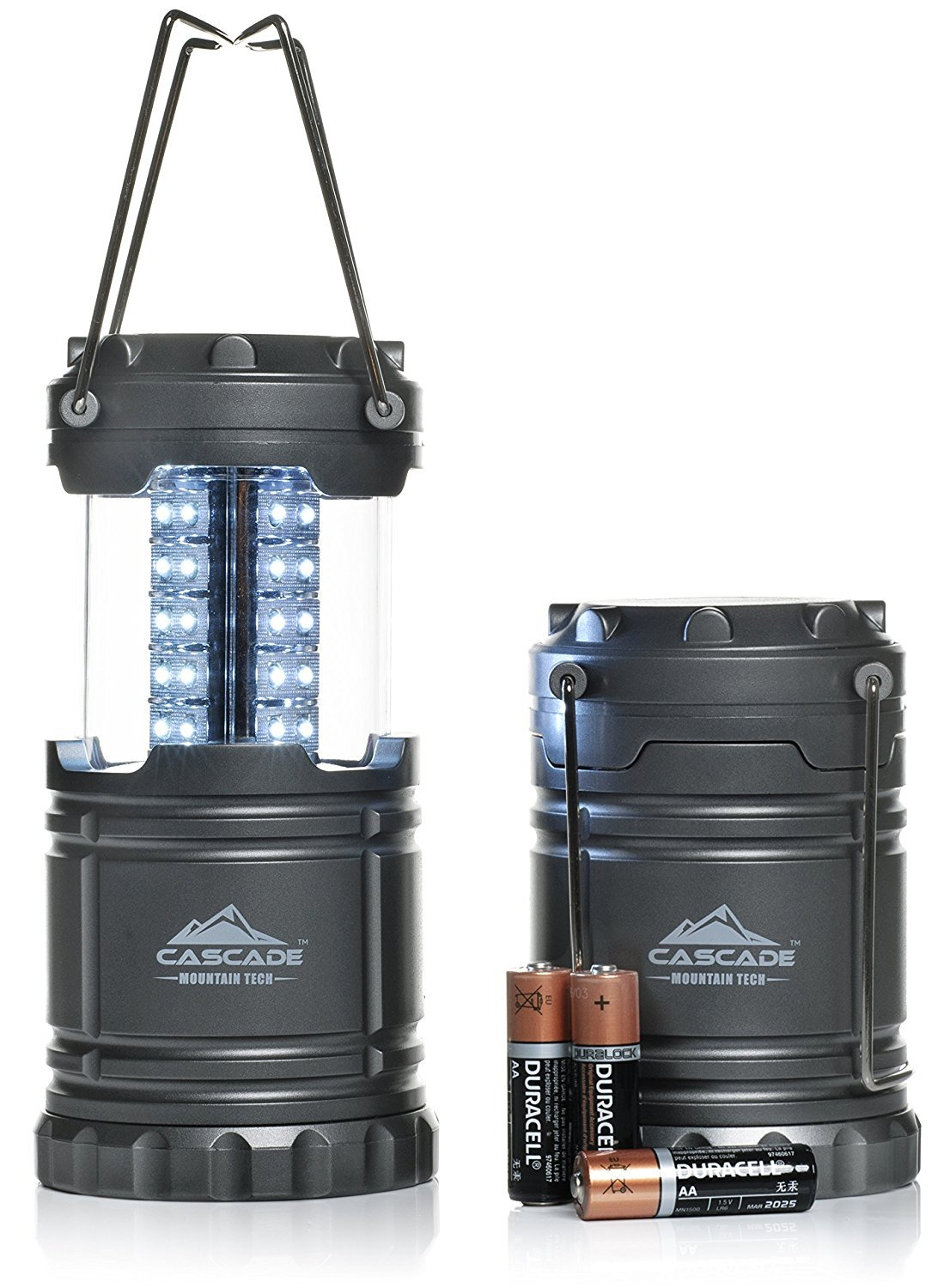 Pop up LED Lantern -2 PACK- Perfect Lighting for Camping, BBQ's and Emergency Light