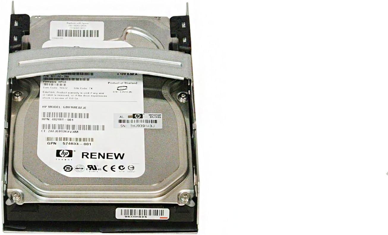HP 160GB 7.2K Hp Ety Sata Qr HDD