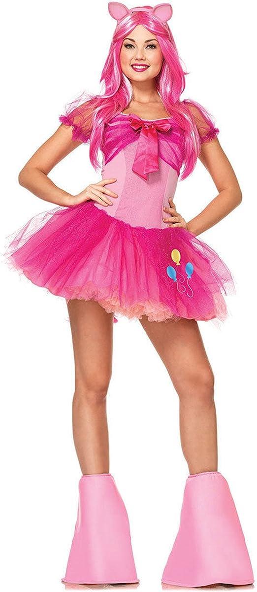 My Little Pony Inglés para tartas disfraz para adulto: Amazon.es ...