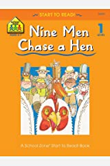 Nine Men Chase a Hen (Start to Read!®) Kindle Edition
