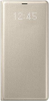 Samsung Note 8 Led View Cover - Funda para Samsung Galaxy Note 8, color oro- Version española: Samsung: Amazon.es: Electrónica