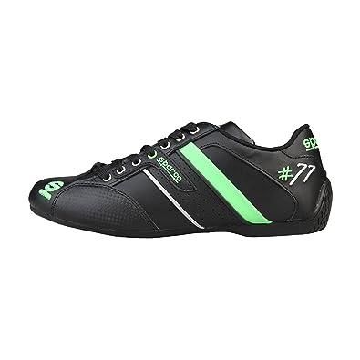 sneakers Sparco Black shoes - TIME77L NERO VERDE - 43  Amazon.co.uk ... 8701e787c