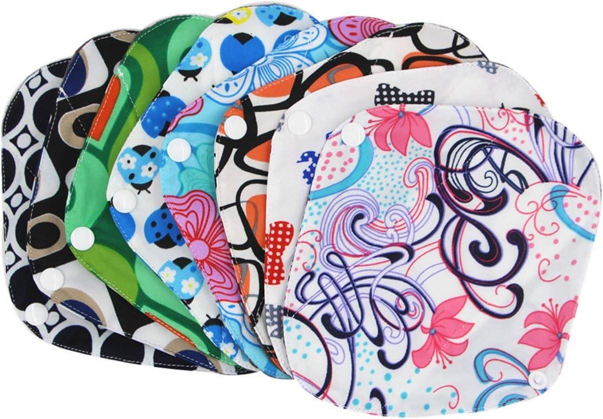 Caroline Philipson Comfortable Women Hygiene Sanitary Pad Reusable Bamboo Charocoal Washable Menstrual Pad Mama Sanitary Towel Pad