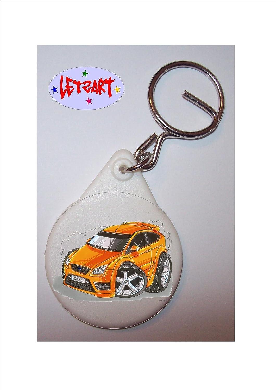 De Koolart - Llavero - Ford Focus ST: Amazon.es: Hogar