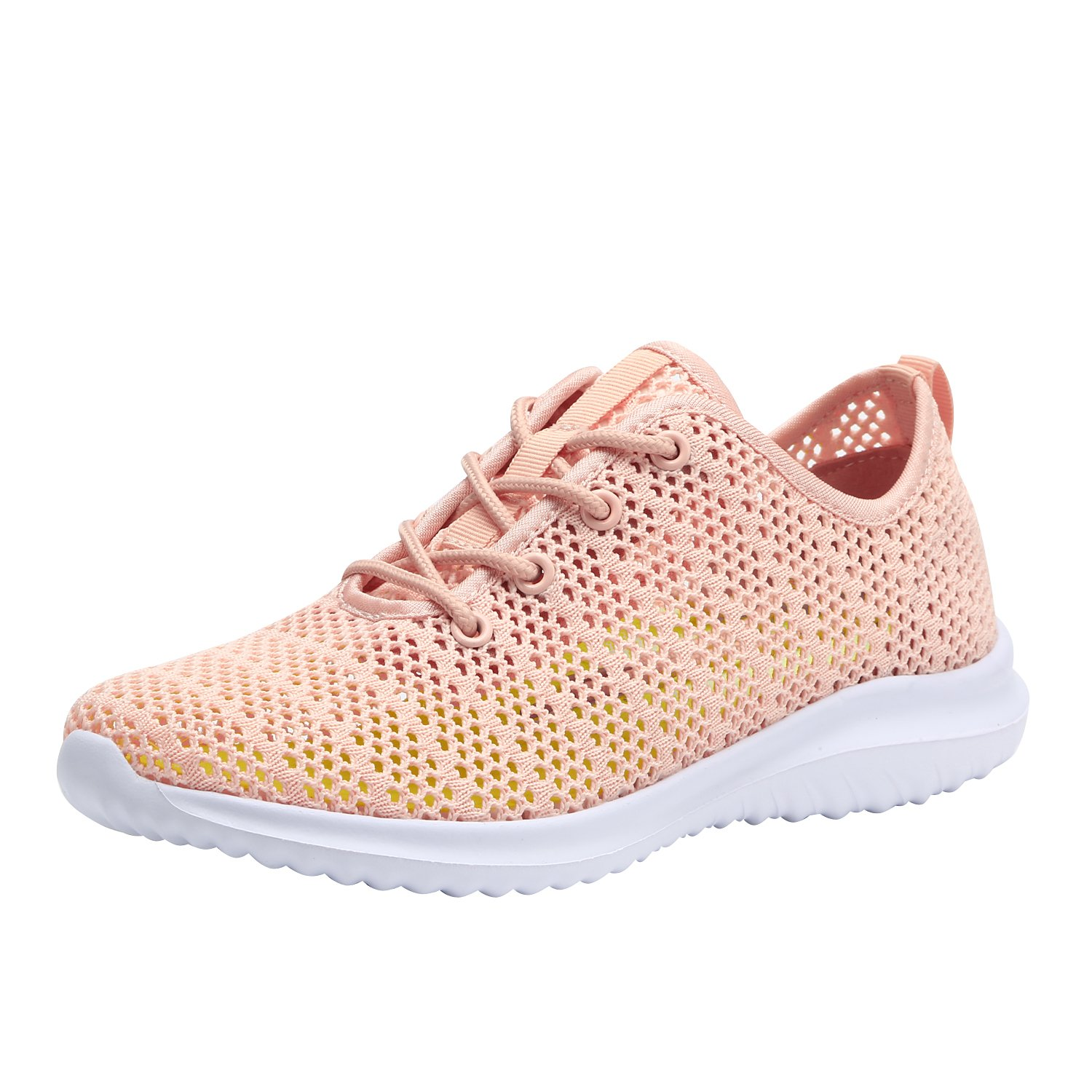 Women's Fashion Sneakers Casual Sport Shoes (8.5 B(M) US, Coral-6)