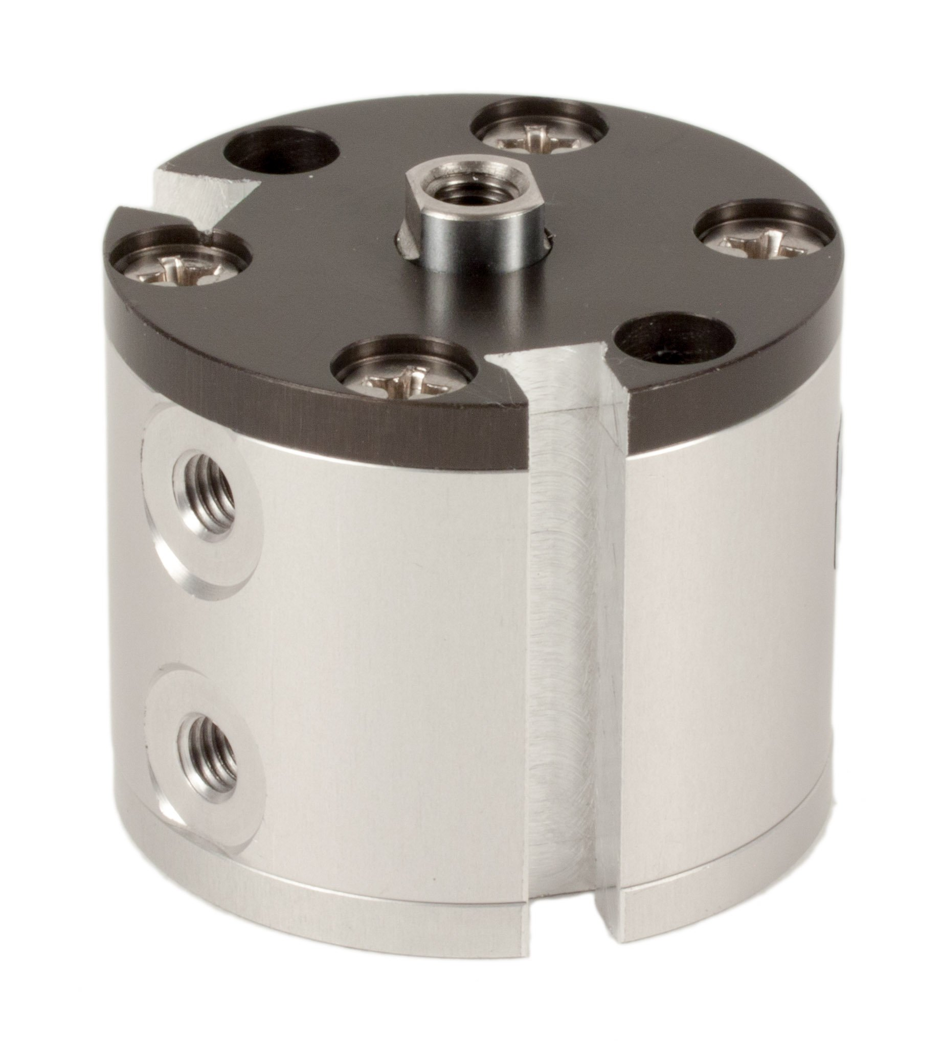 Fabco-Air F-7-X-E Original Pancake Cylinder, Double Acting, Maximum Pressure of 250 PSI, Switch Ready with Magnet, 3/4'' Bore Diameter x 5/8'' Stroke
