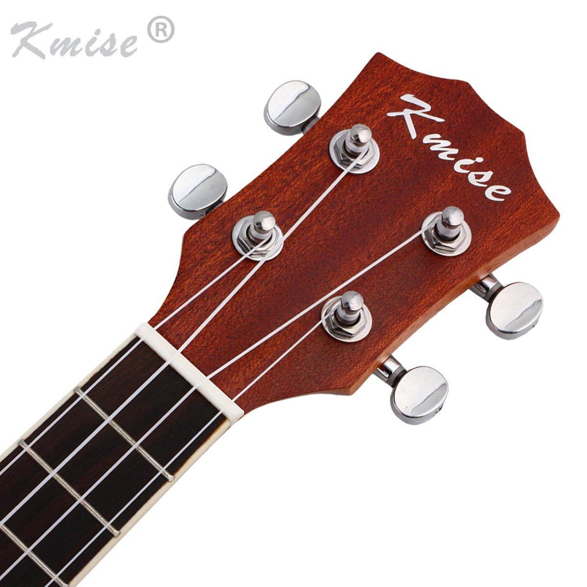 Kmise Banjo ukul/él/é avec sac et tuner Concert 23 inch MI2232