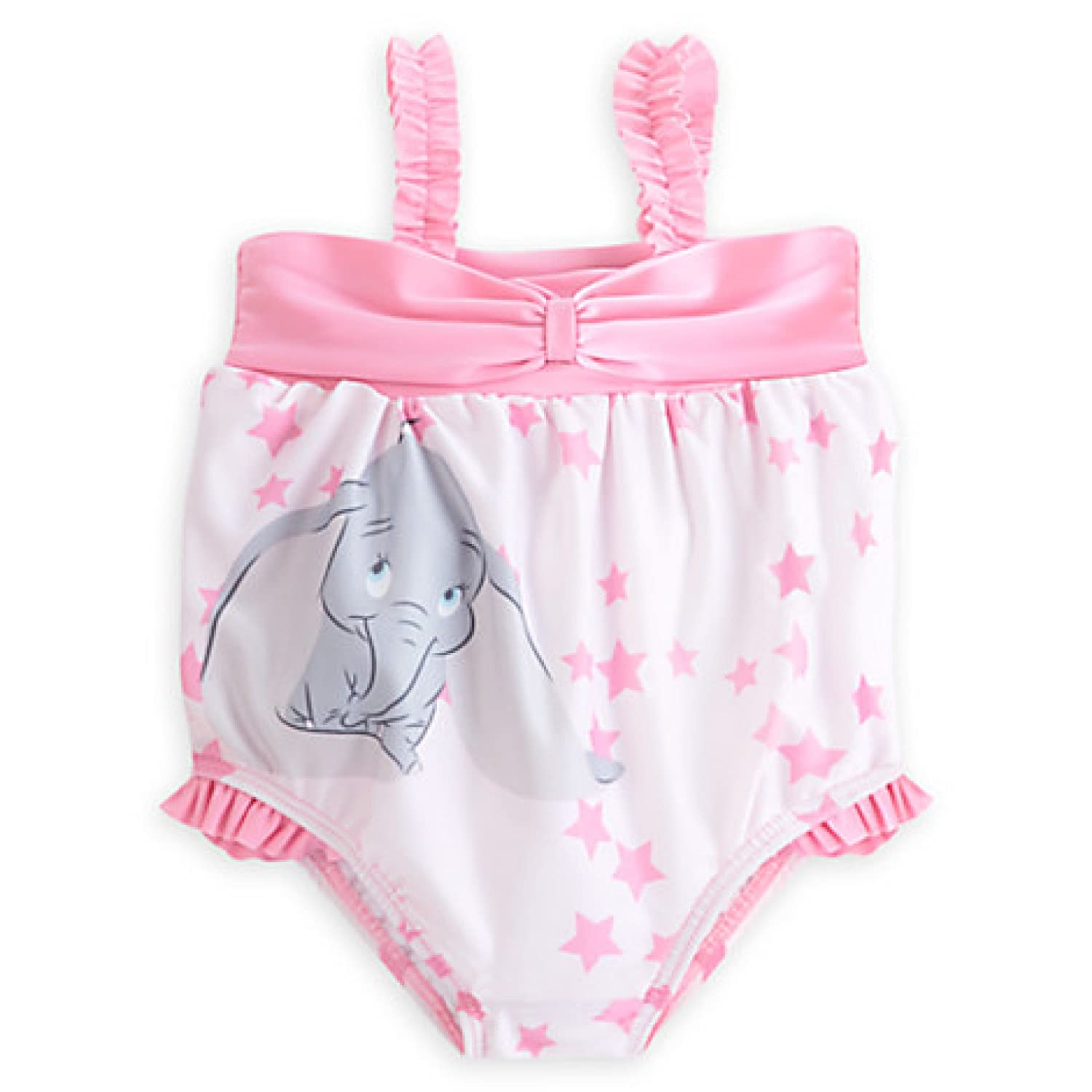 Amazon Disney Store Baby Dumbo Swimsuit Pink Elephant Swimsuit
