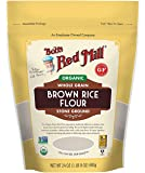 Bob's Red Mill Organic Brown Rice Flour, 24 OZ (24 Ounce, Pack of 1)