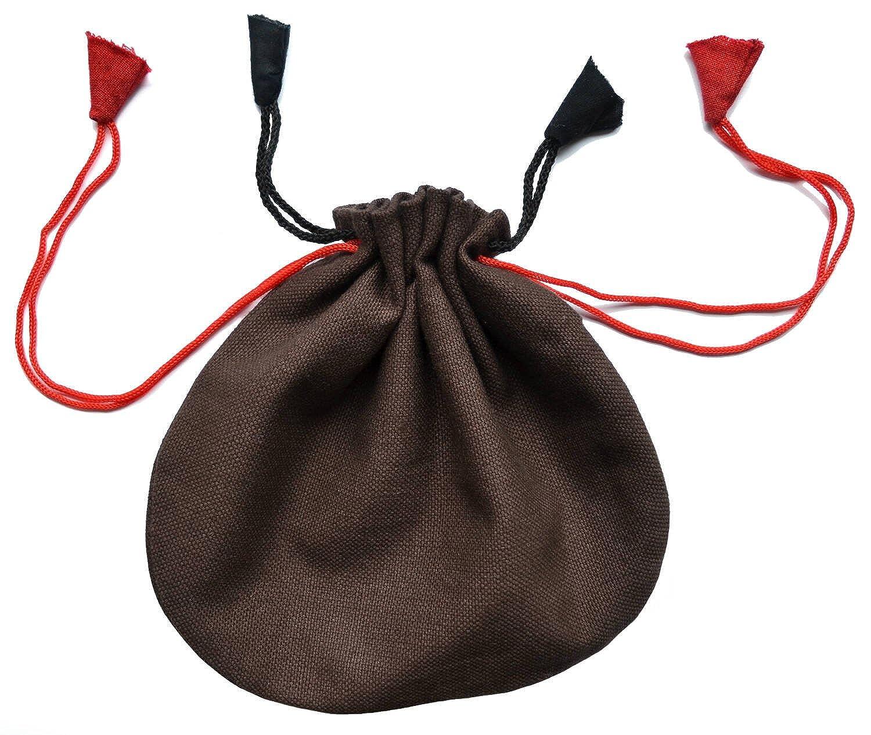 HEMAD HEMAD HEMAD Herren Kostüm Wikinger 6teiliges Set: Tunika, Wikingerhose, Kappe, Gürtel, Beutel, Kette - 100% Naturfaser 3978b8