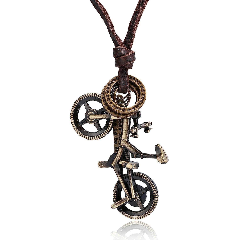 Bonyak Jewelry 18 Inch Hamilton Gold Plated Necklace w// 6mm Green August Birth Month Stone Beads and Saint Brigid Cross Charm