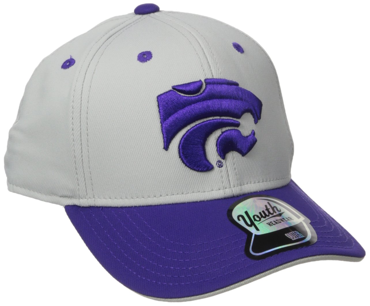 Gen 2 NCAA Youth Boysパフォーマンススナップバックハット B073ZZFLFD Kansas State Wildcats Youth Boys One Size