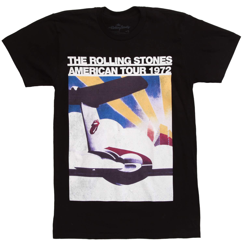 Rolling Stones 1972 American Tour Men's Distressed T-Shirt
