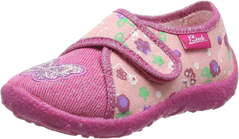 Beck Girls Schmetterling Flat Slippers