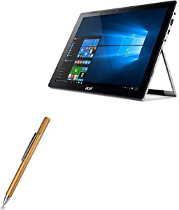 Acer Switch Alpha 12 (SA5-271) Stylus Pen, BoxWave [FineTouch Capacitive Stylus] Super Precise Stylus Pen for Acer Switch Alpha 12 (SA5-271) - Champagne Gold