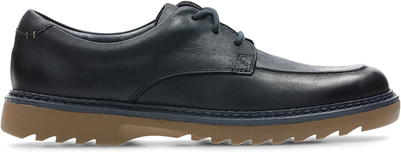 Child - Clarks Asher Grove Blue Leather