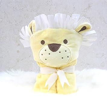 Baño conejo niños León toalla Poncho para niños y niñas 1 - 3 años de edad para playa tiempo y la hora del baño: Amazon.es: Bebé