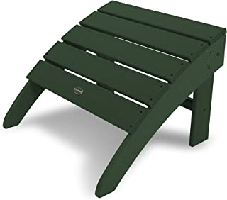 product image for POLYWOOD SBO22GR South Beach Adirondack Ottoman, Green
