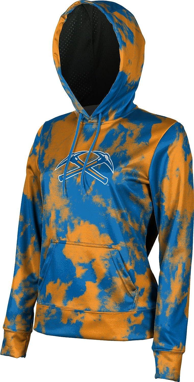 ProSphere University of Wisconsin-Platteville Girls Pullover Hoodie School Spirit Sweatshirt Grunge