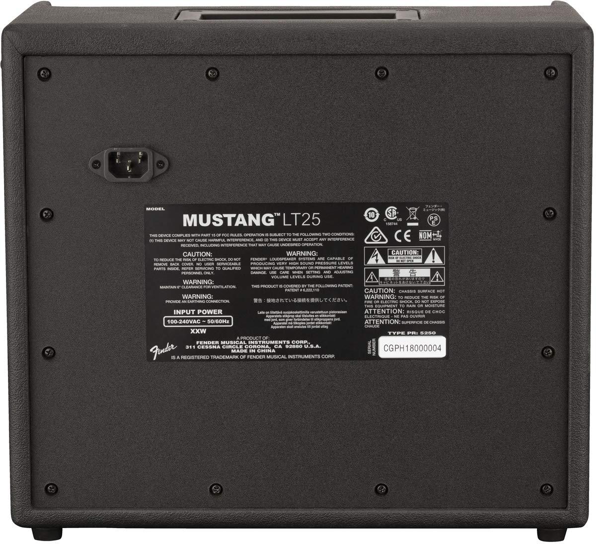 Fender Mustang LT-25 - Digital Guitar Amplifier by Fender (Image #2)