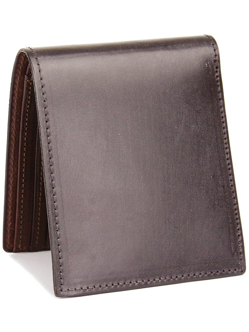 [コルボ] CORBO. -face Bridle Leatherフェイス ブライドルレザー シリーズ 小銭入れ付き 二つ折り財布 1LD-0229 CO-1LD-0229 B006G4HIG8ダークブラウン