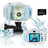 Agoigo Kids Waterproof Camera Toys for 3-12 Year Old Boys Girls Christmas Birthday Gifts Kids Underwater Sports…