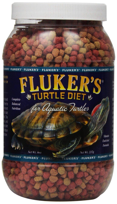 Fluker's 70001 Aquatic Turtle Diet, 8 oz Fluker' s