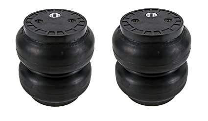 a11d8f41b7bc Slam Specialties SS-7 Air Suspension Bags Springs Single Port 250 PSI 2 Pack