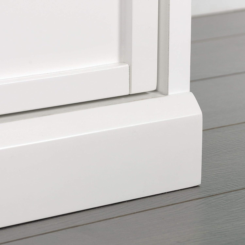 32.13 x W 30.12 L 17.56 x H Sauder 421407 Craft Pro Series Storage Cabinet White finish