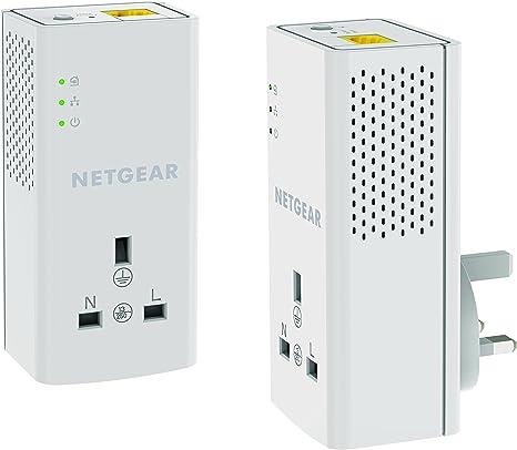 Netgear Powerline 1200 Extra Outlet PLP1200S