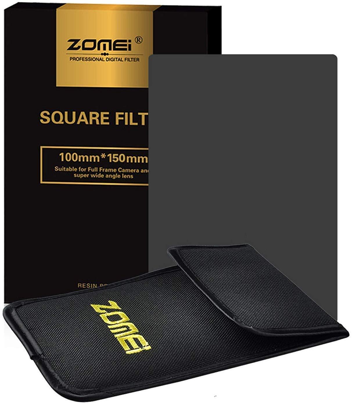 Serie Z-Pro ZOMEi Filtro de Densidad Neutra ND4 para fotograf/ía Cuadrado para Soporte Cokin Z Zomei Hitech 4X6 100 x 150 mm