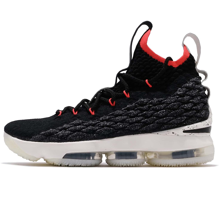(ナイキ) レブロン XV EP 15 メンズ バスケットボール シューズ Nike LeBron XV EP AQ2364-002 [並行輸入品] B07CWN2HX3 27.5 cm BLACK/BLACK-SAIL