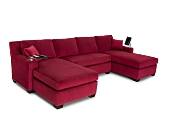 Amazon.com: Cavallo Seating Fortuna Bella Fabric Custom Home ...