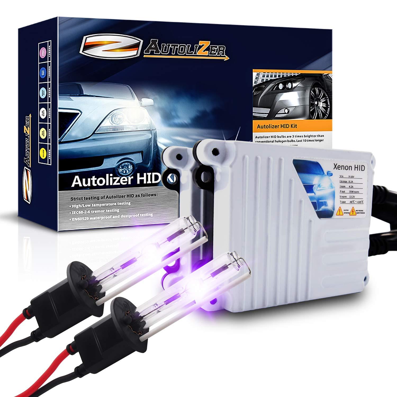 Autolizer 55W Xenon HID Lights 880 881 893 899-8000K Iceberg Blue