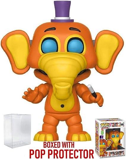 Funko Toys PoP FNAF Five Nights Freddys Pizza Simulator Orville Elephant figure