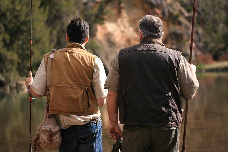 Angler Weste mit vielen praktischen Taschen-wasserabweisend Kakadu Outdoor Jagd