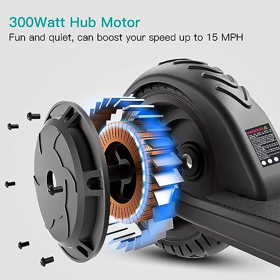 Amazon.com: Macwheel Scooter eléctrico plegable y ligero ...