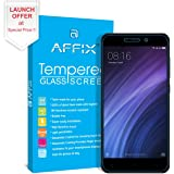 Affix Xiaomi Redmi 4A [5 inch] Premium Tempered Glass Screen Guard Protector With Free Cleaning and Application Kit