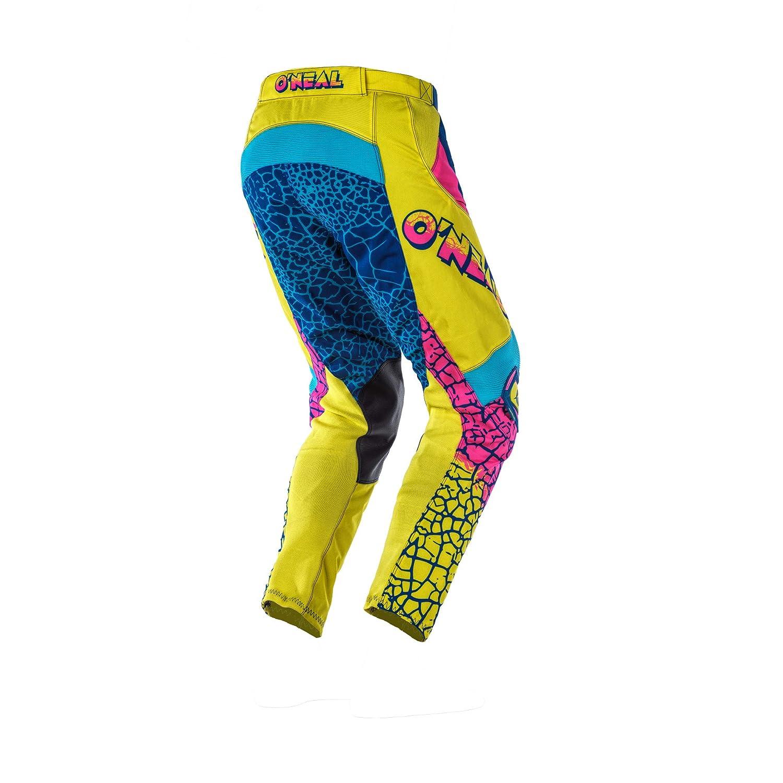 Yellow//White//Blue, 32 ONeal Mayhem Unisex-Adult Pants