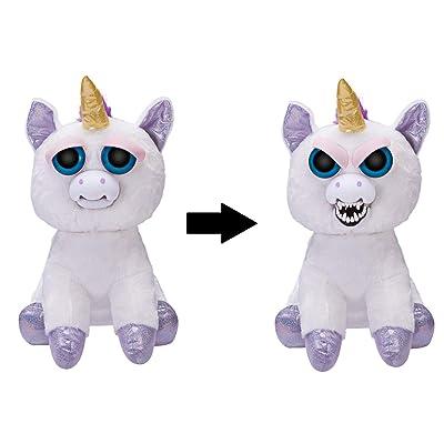 WMC Feisty Pets Jumbo 20 Glenda Glitterpoop The Unicorn: Toys & Games