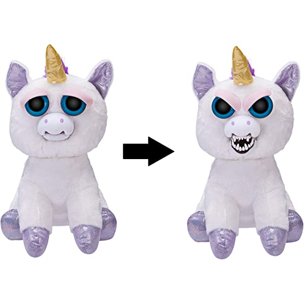 Feisty Pets Unicorn Glenda Fox Dog Giraffe Plush Kids Fun Children Toys Gifts f0