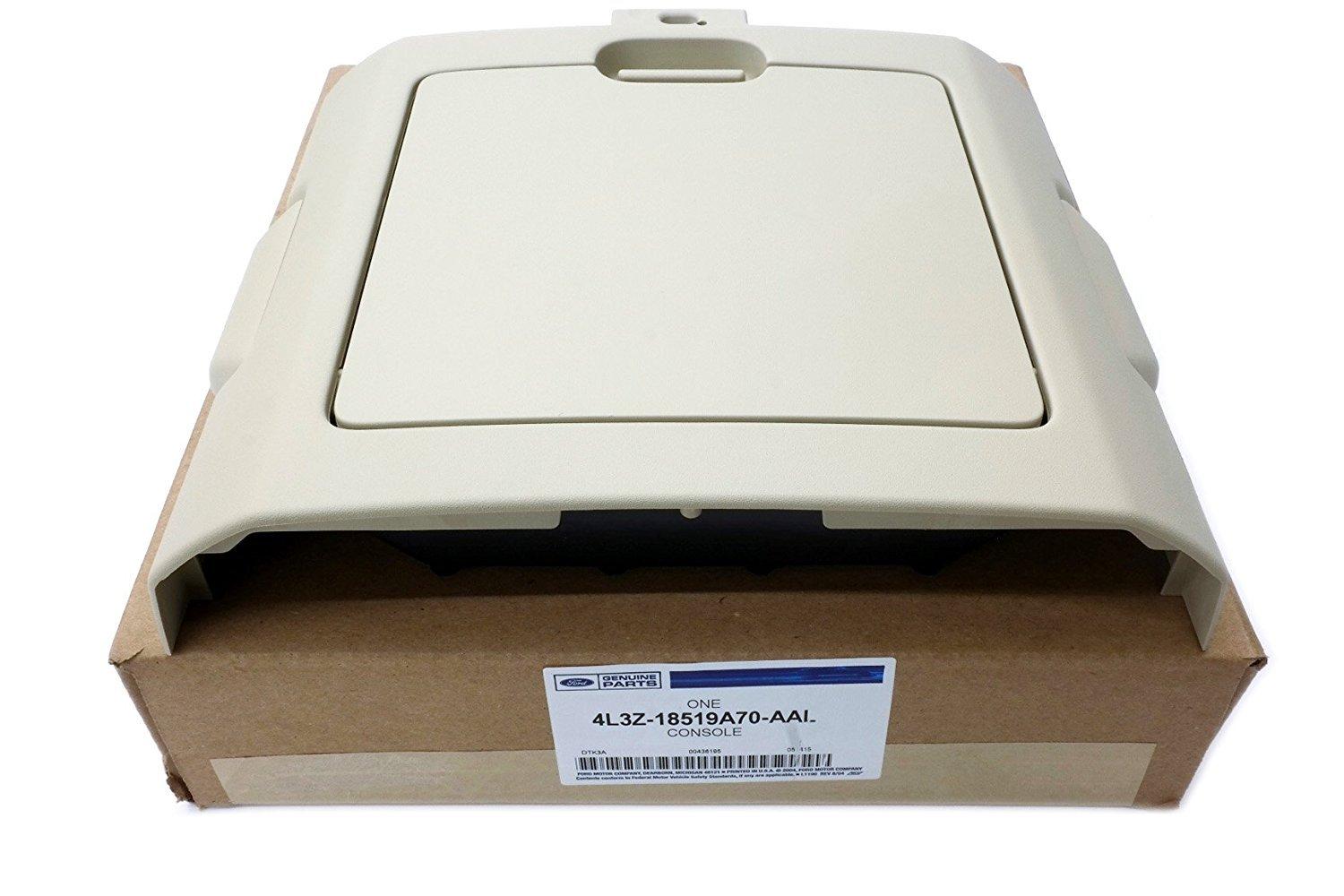 Ford Genuine 4L3Z-18519A70-AAL Overhead Console Assembly by Ford