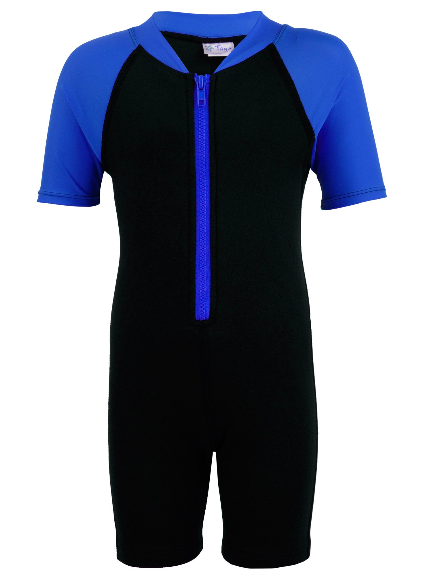 Tuga Boys Thermal Wetsuit (UPF 50+), Royal, S (7/8 yrs) by Tuga Sunwear (Image #1)