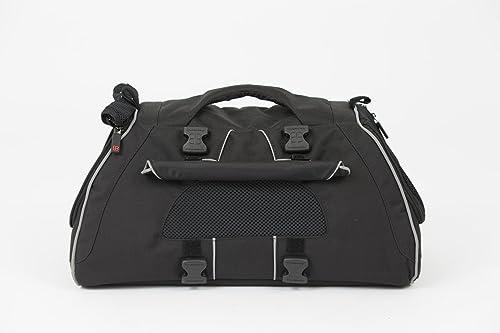 Petego Jet Set-Black Forma Frame Pet Carrier, Black, Medium