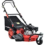 PowerSmart Lawn Mower, 20-inch & 170CC, Gas Powered Self-Propelled Lawn Mower with 4-Stroke Engine, 3-in-1 Gas Mower in Color