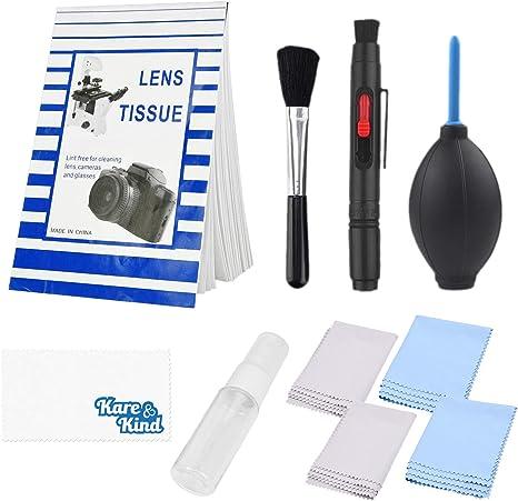 Kit de Limpieza de Lente de Cámara Kare & Kind: Amazon.es: Electrónica