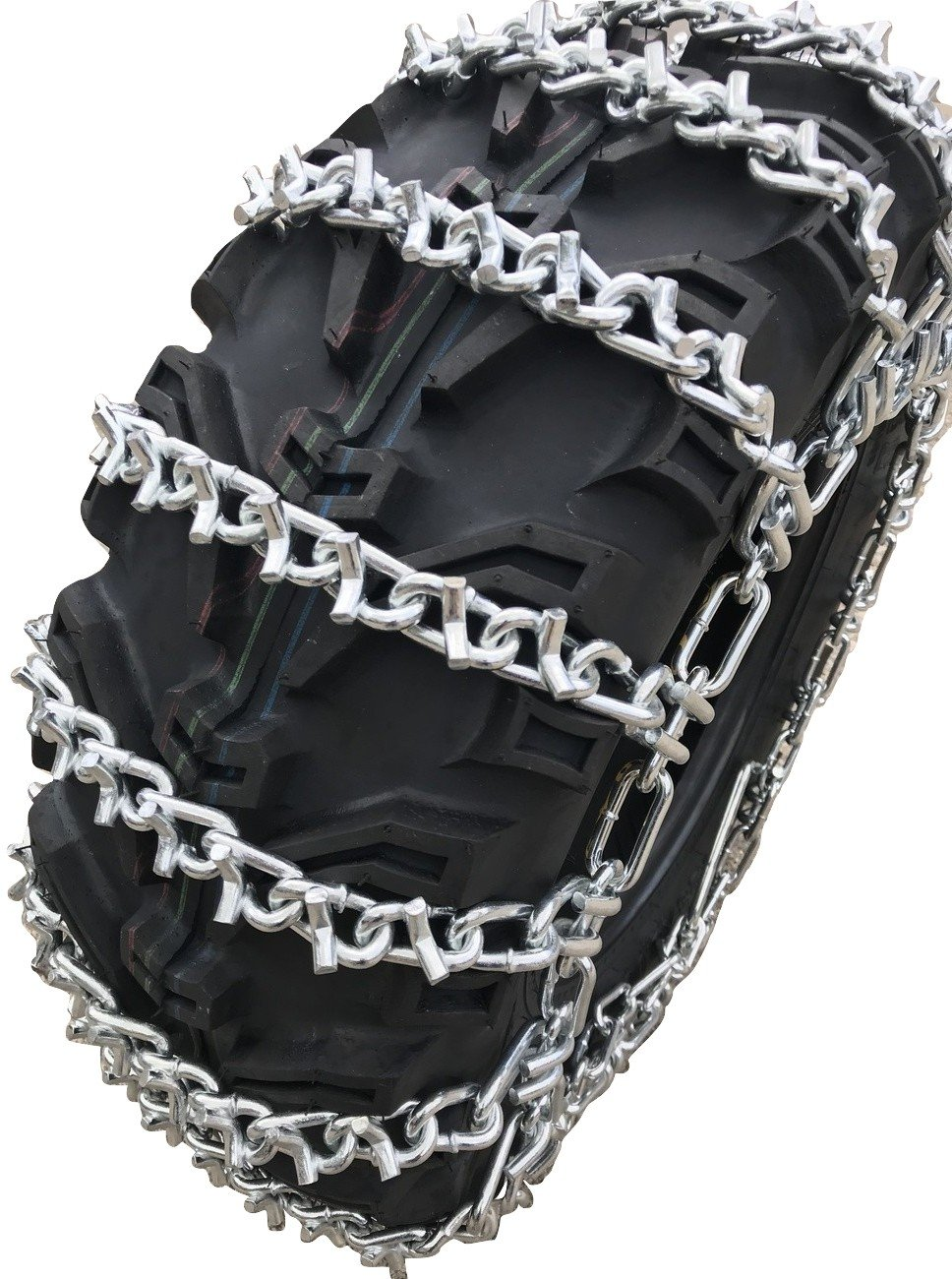 2 Chains - Tire Size 25x8x12 Front Snow Chains 2006 Can-Am Outlander 400